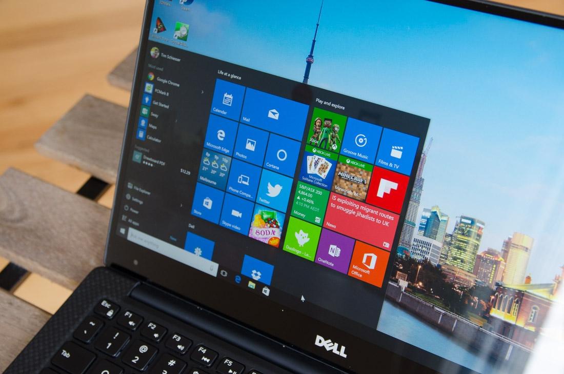 dell, laptop, xps 13, skylake, windows 10, edge display