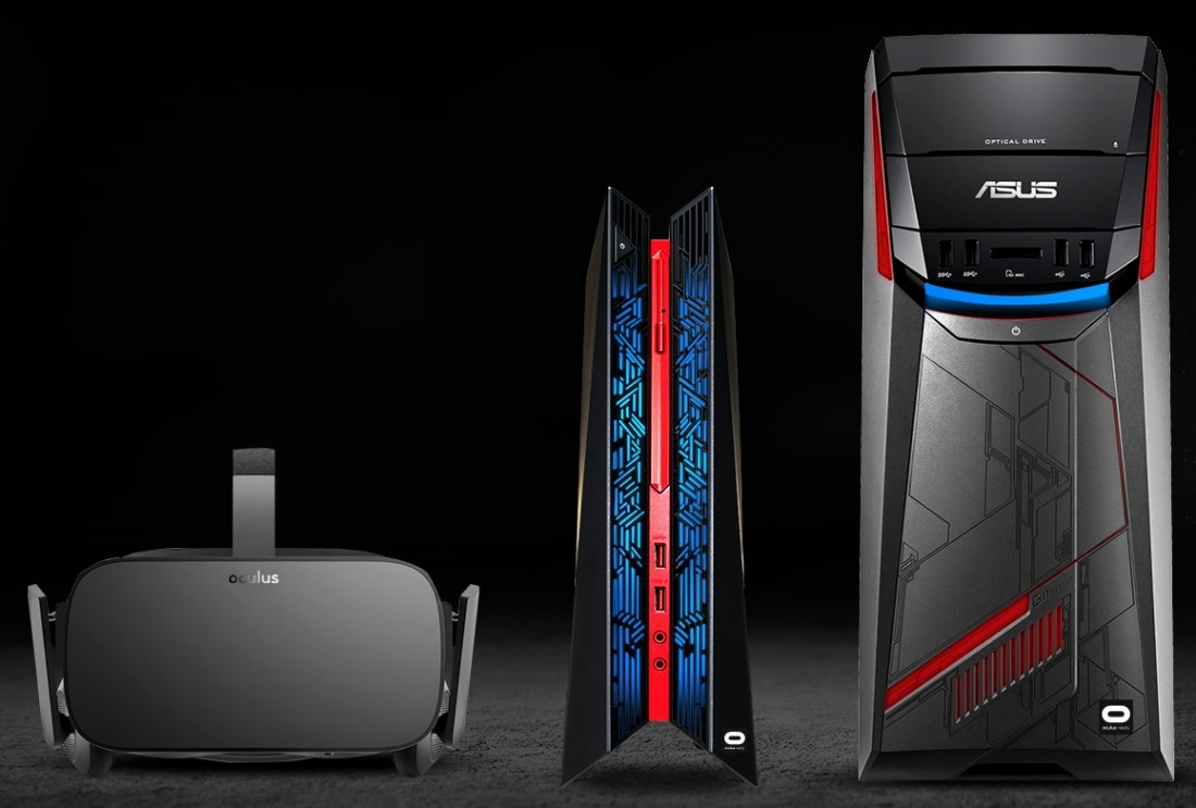 dell, asus, alienware, desktop, virtual reality, vr, graphics cards, oculus rift, oculus vr