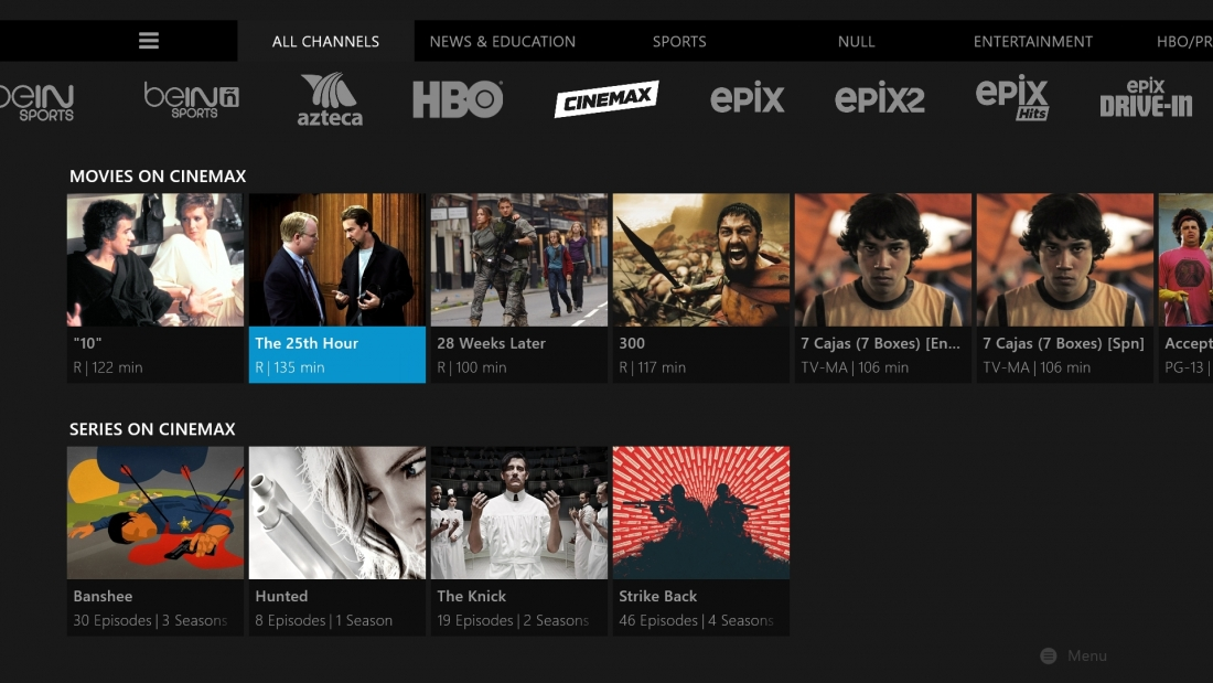 Sling Tv Adds Cinemax To Its Lineup For An Extra 10 Per