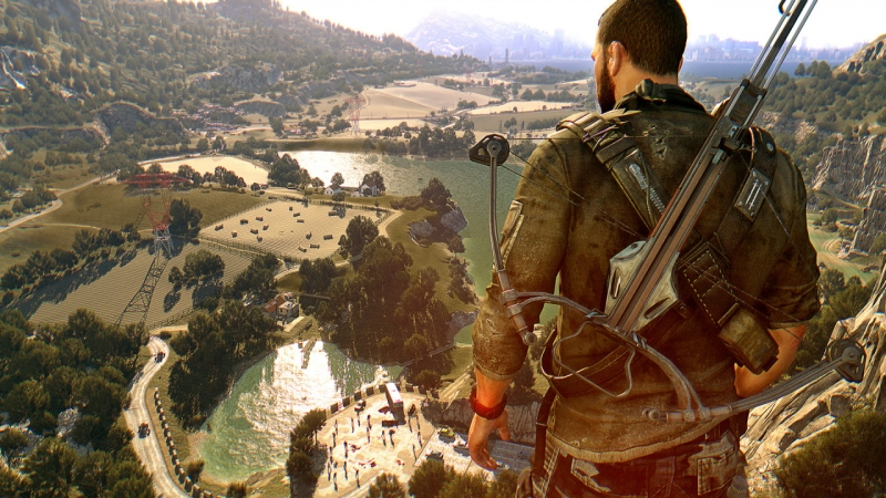 game, dying light, techland, zombies, parkour