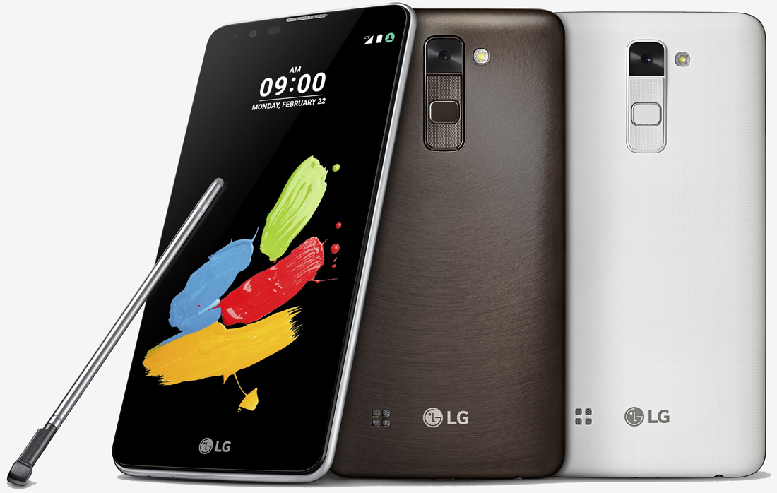 mwc, smartphone, lg, handset, phablet, stylus, phone, mwc 2016, lg stylus 2