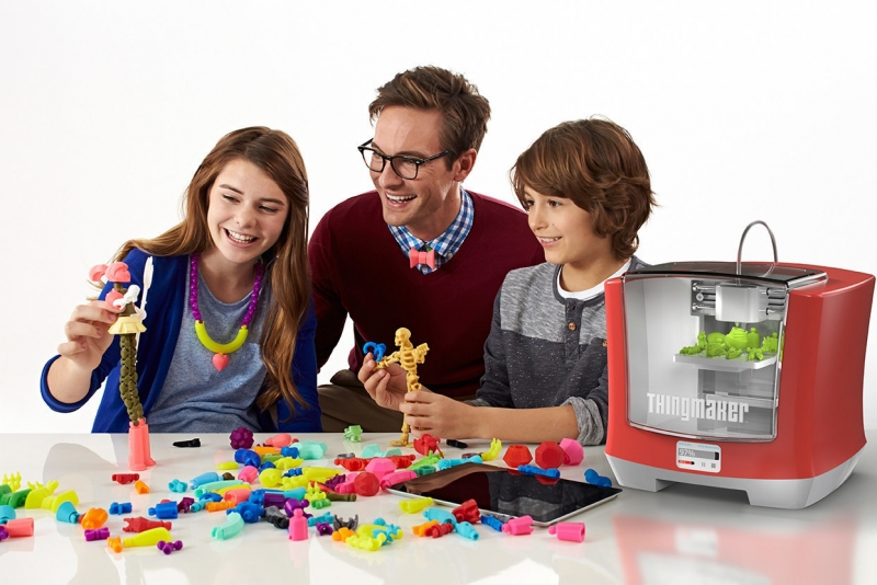 3d printing, 3d printer, new york toy fair, mattel, thingmaker, thingmaker 3d
