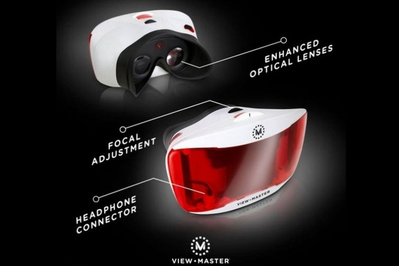 virtual reality, vr, vr headset, mattel view-master, google cardboard, new york toy fair, smartphone vr, mattel