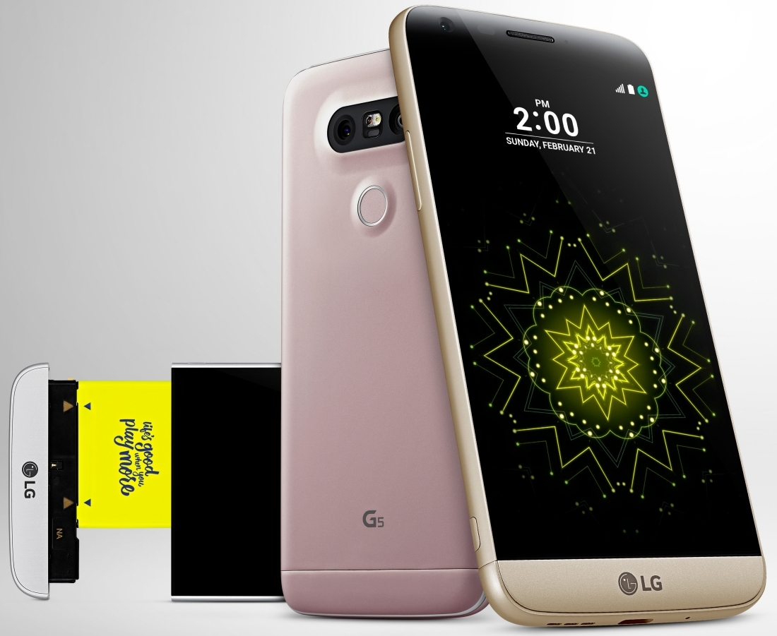 qualcomm, mwc, smartphone, handset, phone, flagship, snapdragon 820, bang and olufsen, adreno 530, lg g5, mwc 2016, g5