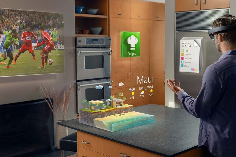 augmented reality, hololens