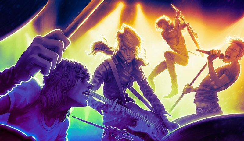 crowdfunding, rock band 4, rock band, harmonix, fig, rock band 4 pc version, sumo digital