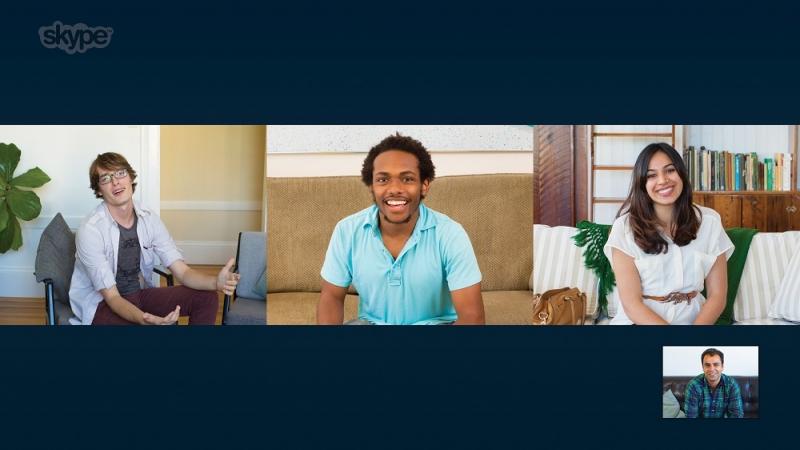 skype, tv, smart tv