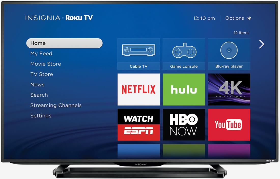 google, roku, vizio, best buy, tv, television, smart tv, insignia, set-top box, chromecast