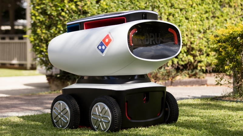 australia, cord-cutting, robots, autonomous delivery vehicles, dominos delivery robot, dru, marathon targets