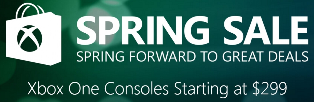 microsoft, xbox live, halo, gaming, sale, major nelson, deals, gears of war, xbox one, forza, the division, quantum break, spring sale, xbox live spring sale, xbox live bundle