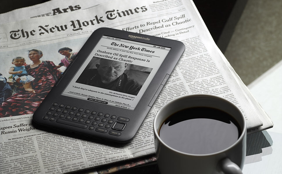 Amazon issues emergency update for older Kindle e-readers