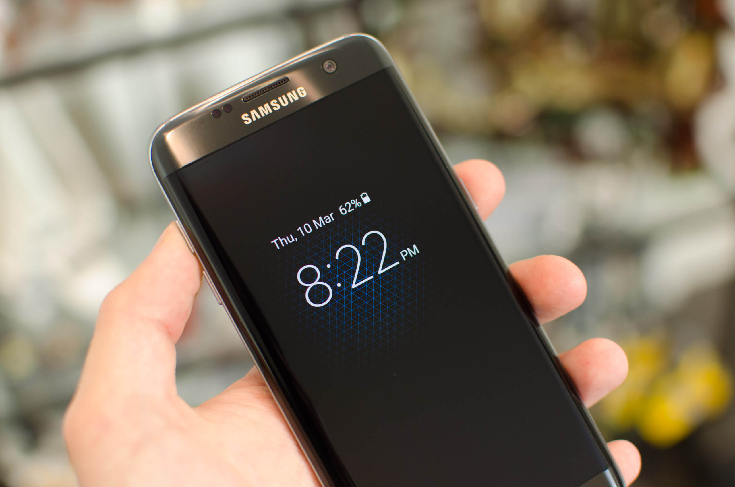 android, samsung, smartphone, amoled, display, battery life, tested, galaxy s7, galaxy s7 edge, always on display