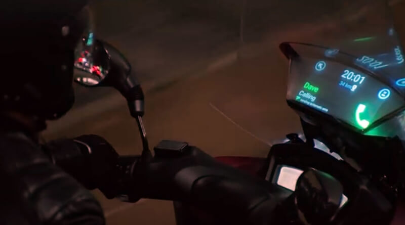 samsung, italy, yamaha, smart motorbike windshield, smart vehicles, motorbikes, windshields