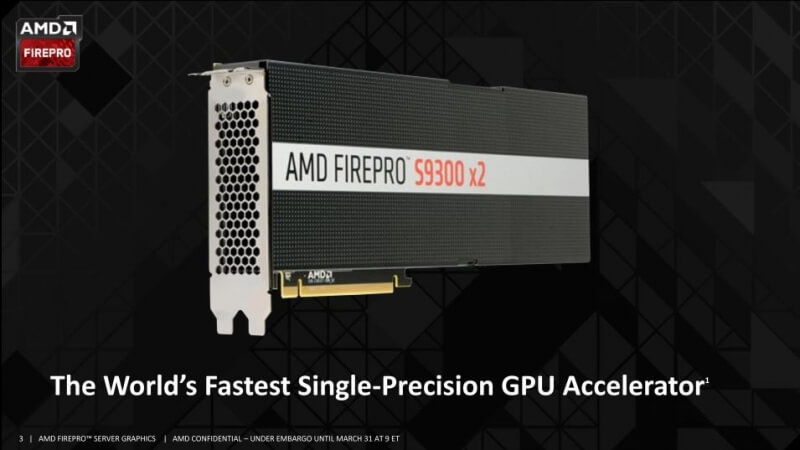 amd, gpu, dual-gpu, graphics cards, fiji, firepro, firepro s9300 x2
