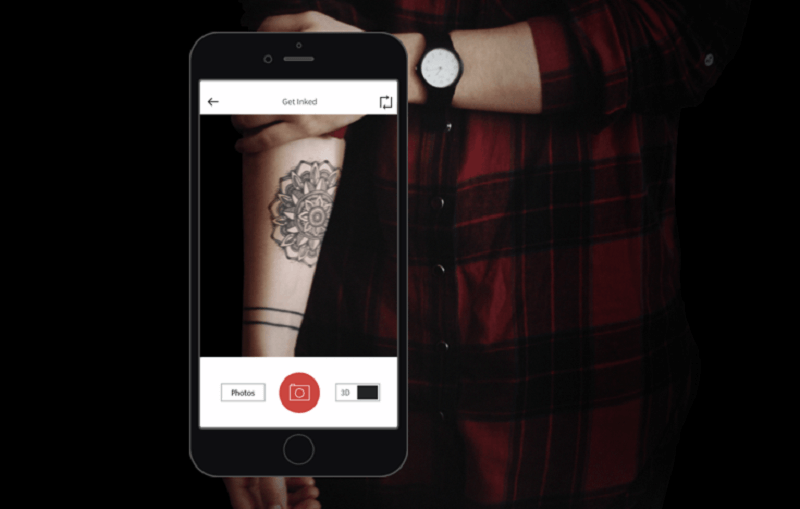 augmented reality, ar, tattoo