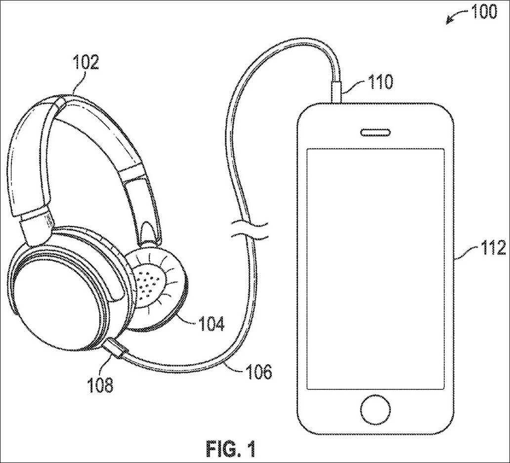 apple patent details hybrid wired wireless headphones. Black Bedroom Furniture Sets. Home Design Ideas