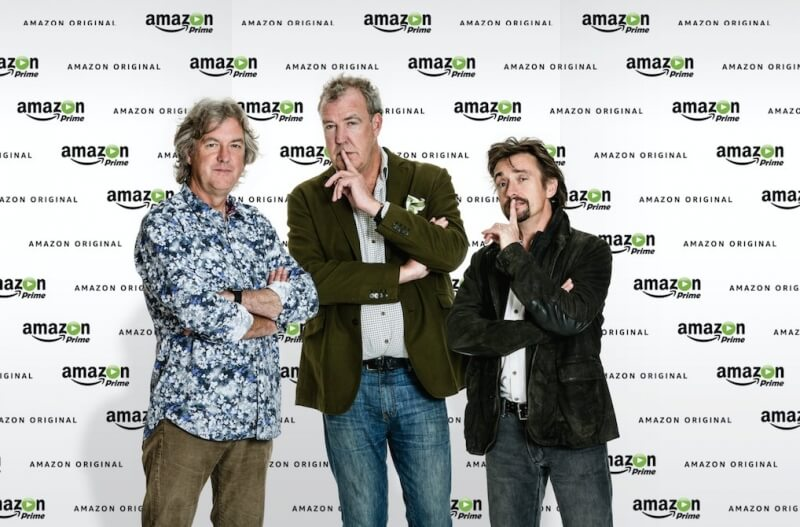 amazon, top gear, jeremy clarkson, richard hammond, james may, andy wilman, motoring show