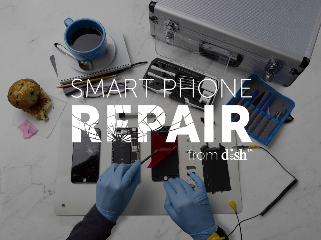 iphone, dish, smartphone, dish network, repair