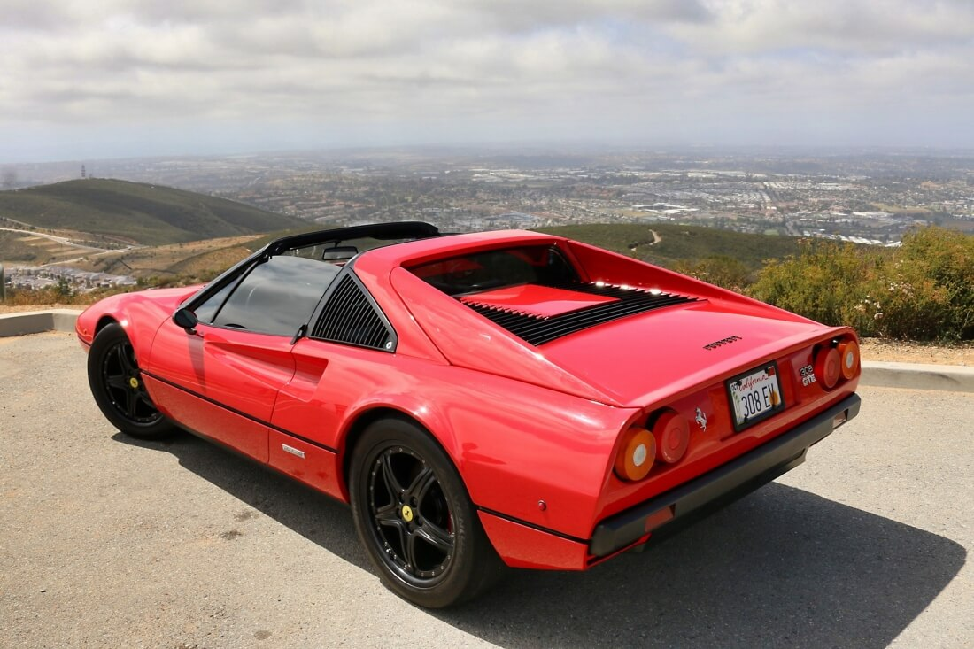torque, electric vehicle, lithium-ion batteries, horsepower, ferrari, ferrari 308, eric hutchinson, ev west, electric ferrari, electric motor
