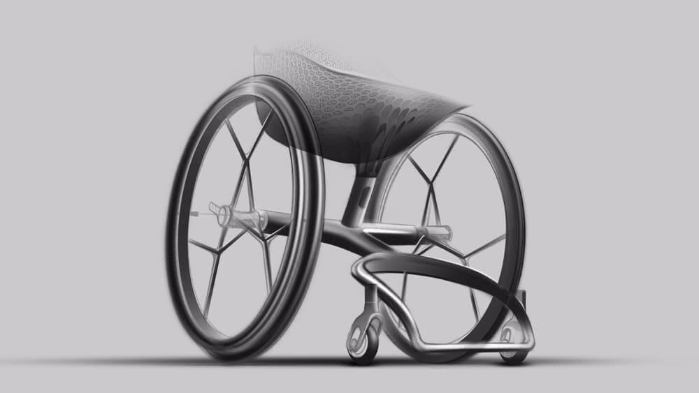 3d printing, 3d printer, 3d printed, materialise, layer, wheelchair