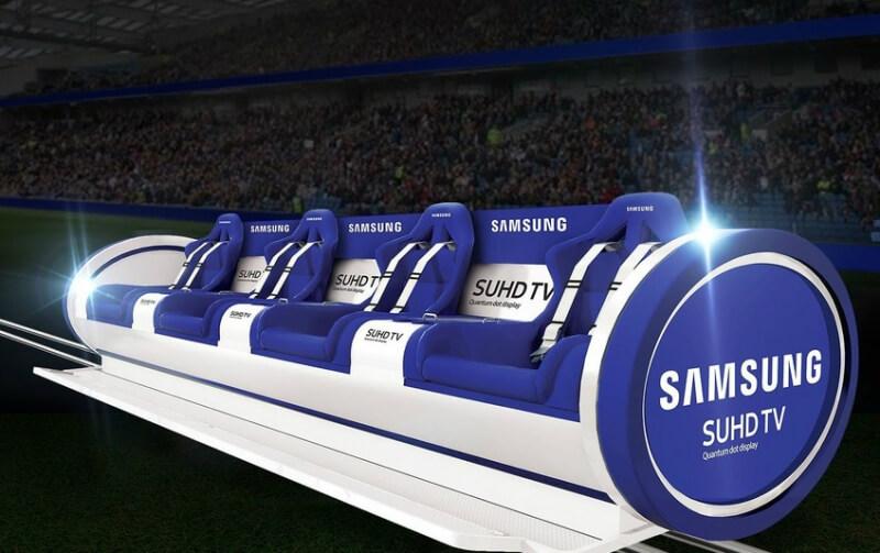 samsung, uk, samsung slider, sports events, sliding bench, the slider, rugby