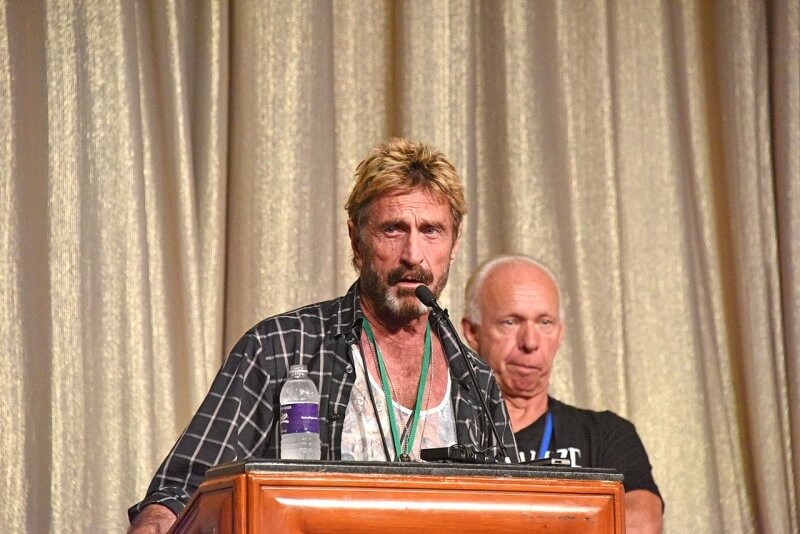 ceo, john mcafee, mgt capital investments, future tense secure systems, john mcafee global technologies, chairman
