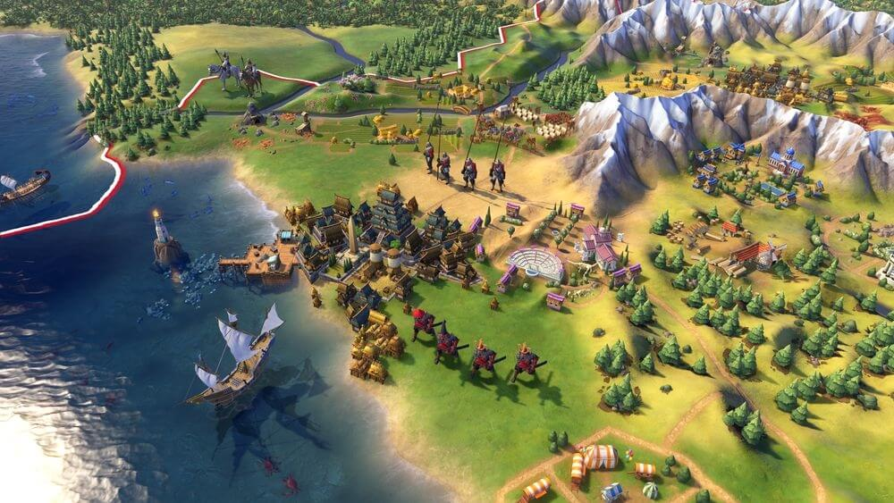 civilization, pc gaming, firaxis, firaxis games, civilization vi, strategy game