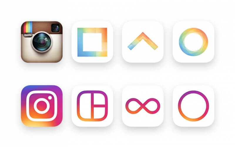 facebook, instagram, redesign, hyperlapse, boomerang