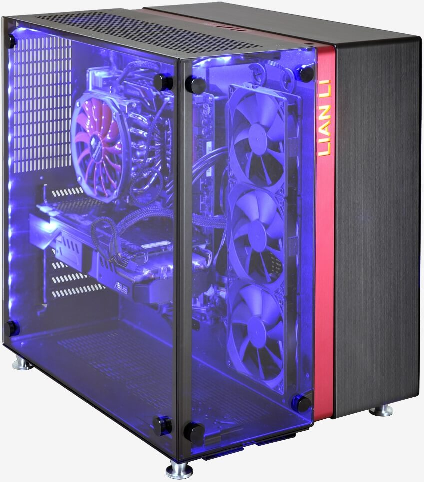 Lian Li S Pc 09 Is Two Cases Fused Together As Conjoined