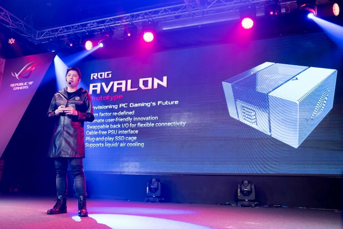 asus, computex, hardware, computer, pc, diy pc, computex 2016, asus avalon, avalon, modular pc, republic of gamers