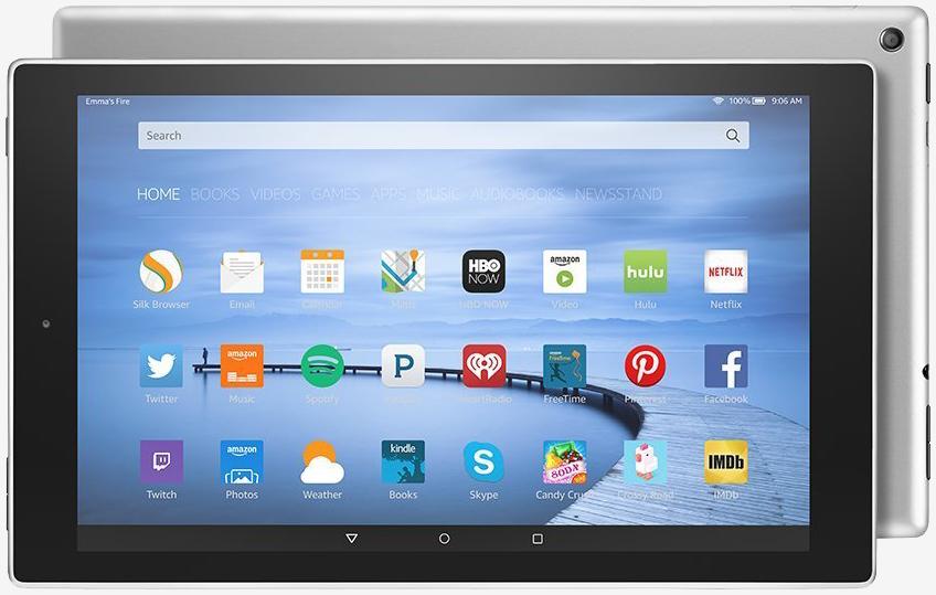 amazon, storage, tablet, slate, refresh, makeover, aluminum, metal, amazon fire hd 10, fire hd 10
