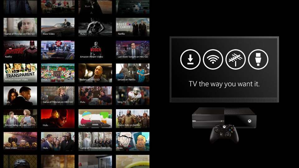 microsoft, tv, e3, dvr, xbox one, tv tuner, e3 2016, xbox one dvr