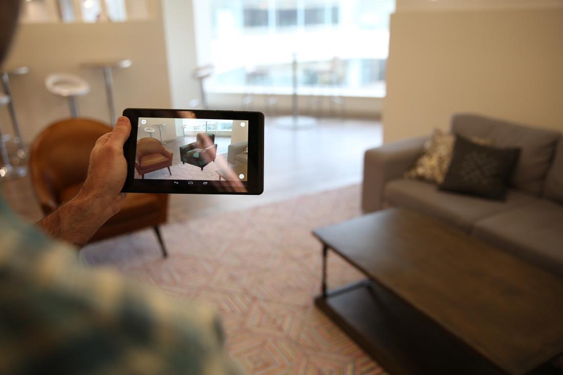lenovo, smartphone, phablet, augmented reality, project tango