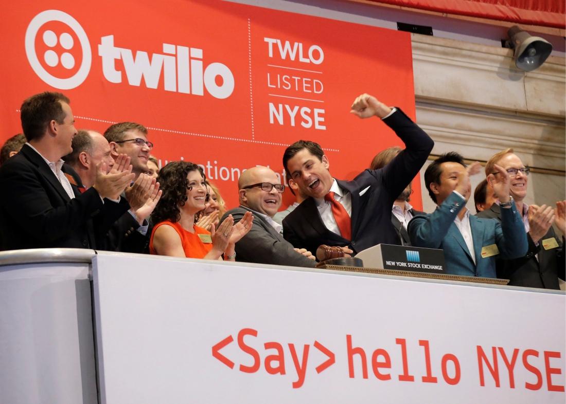 ipo, stock, new york stock exchange, stock market, nyse, share value, twilio, jeff lawson