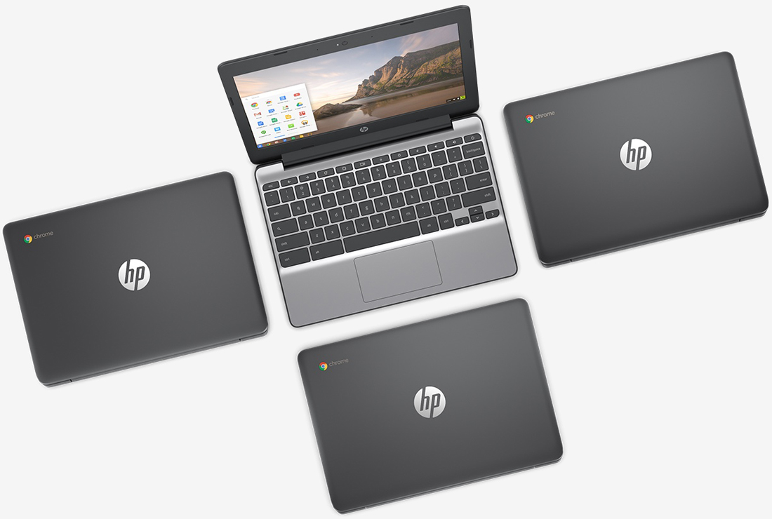 laptop, chrome os, hp, chromebook, computer, pc