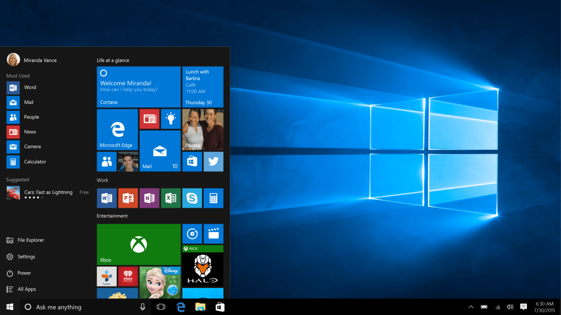 microsoft, windows, leak, update, windows 10, anniversary update