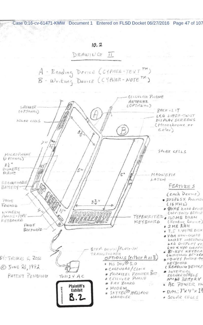 iphone, ipad, ipod, lawsuit, florida, patent, copyright, copyright infringement, patent and trademark office, florida man, stolen design, thomas s. ross, 10 billion
