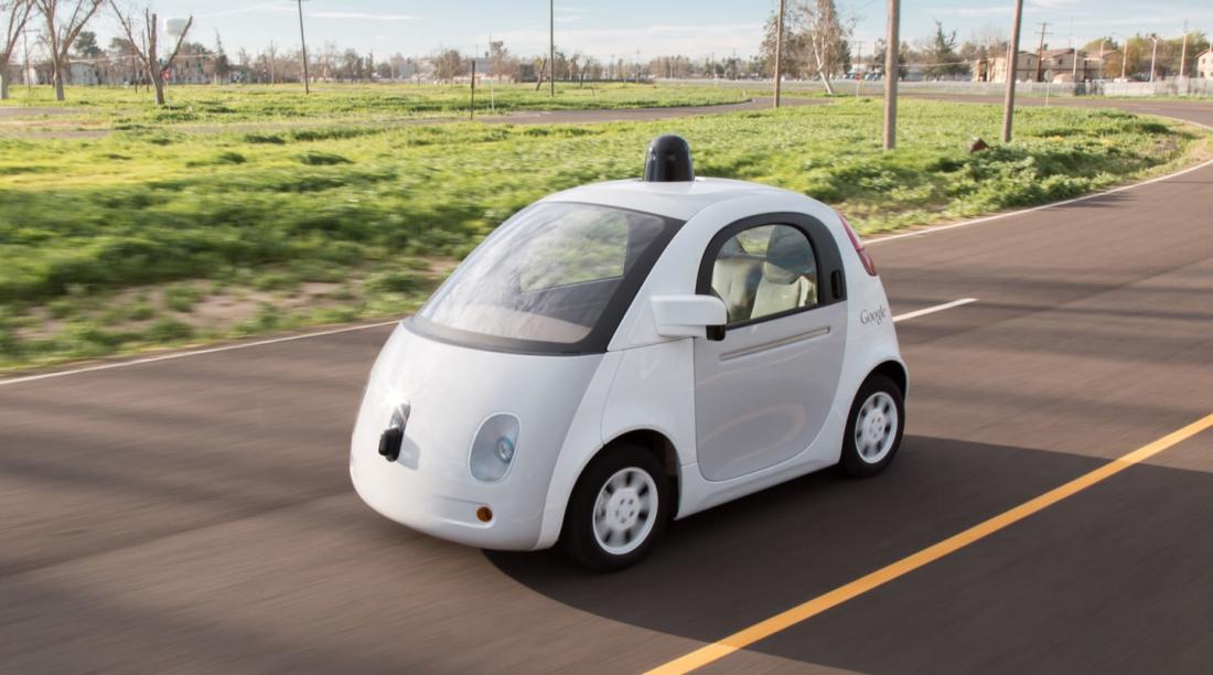 google, driving, self driving car, autonomous car, google car, cyclists, biker, hand signals