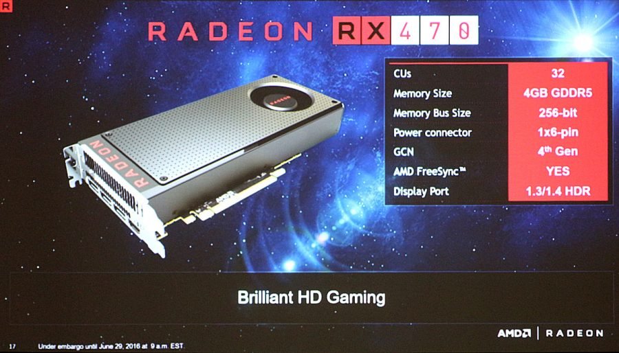 amd, radeon, gpu, specs, video card, graphics cards, specifications, radeon rx 470, radeon rx 460