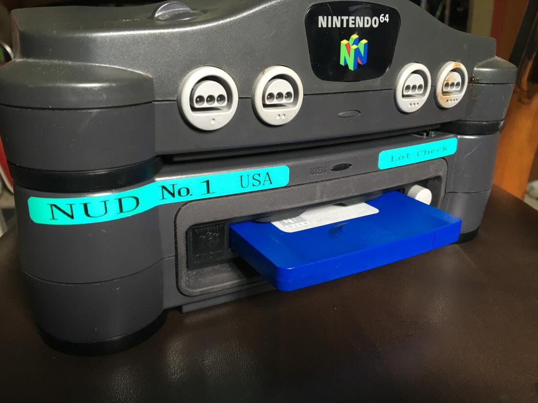 nintendo, nintendo 64, peripheral, mario, n64, 64dd, n64 disk drive add-on