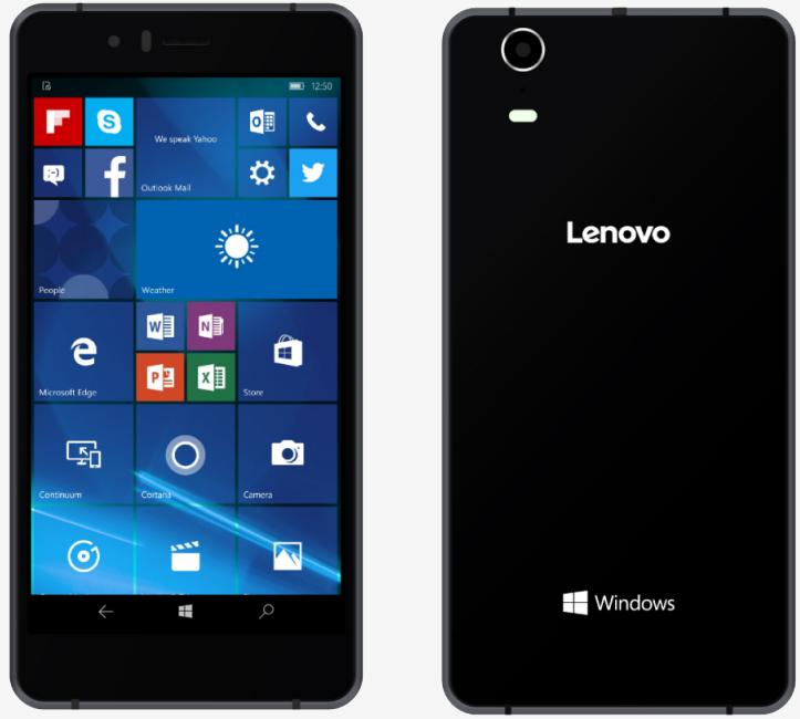 microsoft, lenovo, smartphone, handset, phone, softbank, windows 10