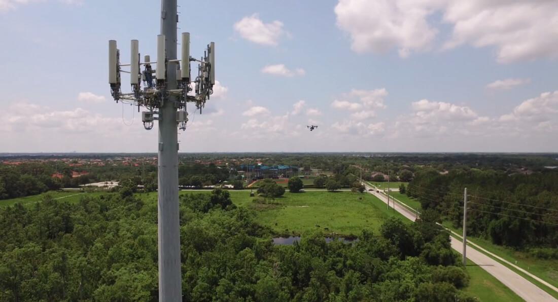 att, wireless, 4g lte, drone