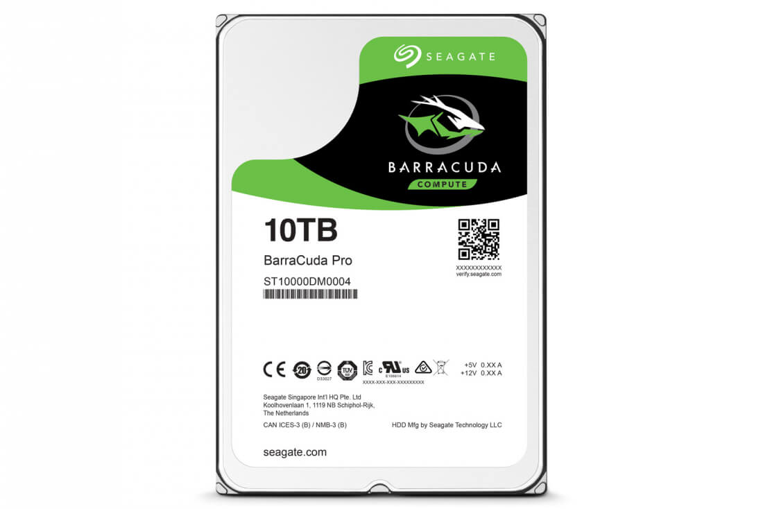seagate, hdd, ssd, hard disk, hard disk drive, barracude pro, 10tb hdd