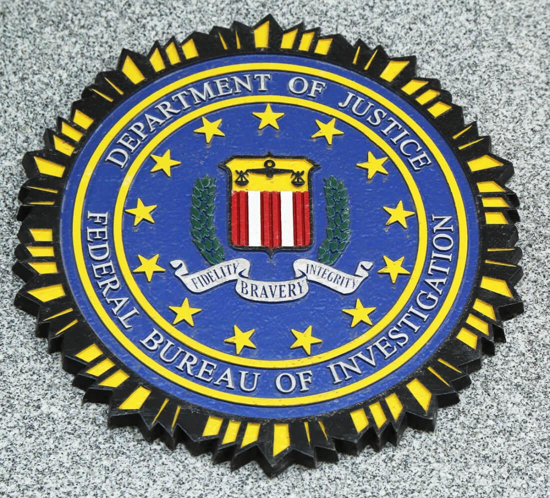 fbi, doj, department of justice