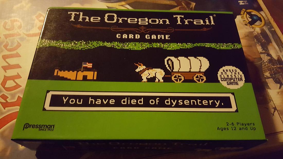 target, nostalgia, card game, the oregon trail