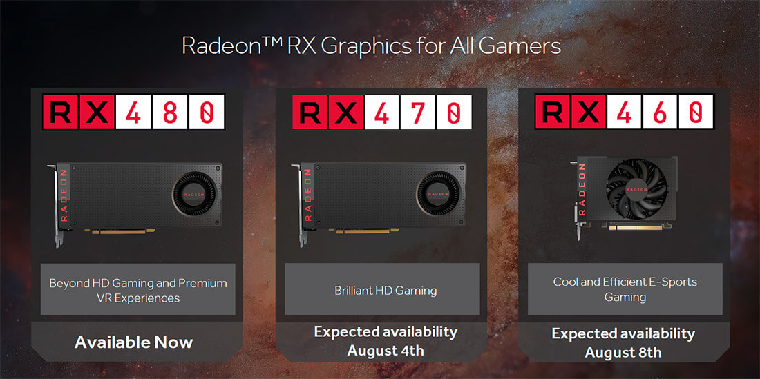 amd, radeon, gpu, graphics cards, polaris, rx 460, rx 470