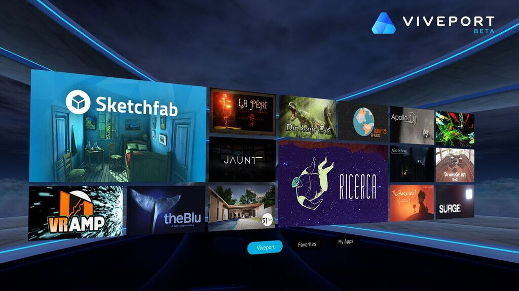 Image result for HTC Vive VR app store, the Viveport, launches today in the UK