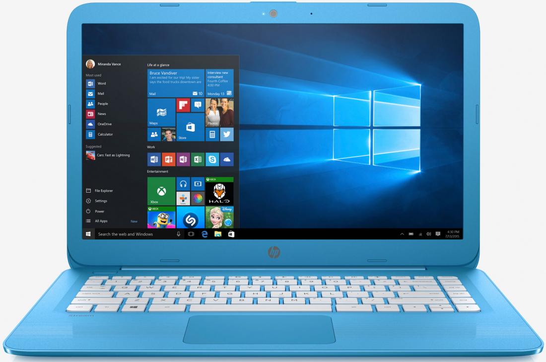 laptop, hp, chromebook, upgrade, refresh, hp stream, windows 10