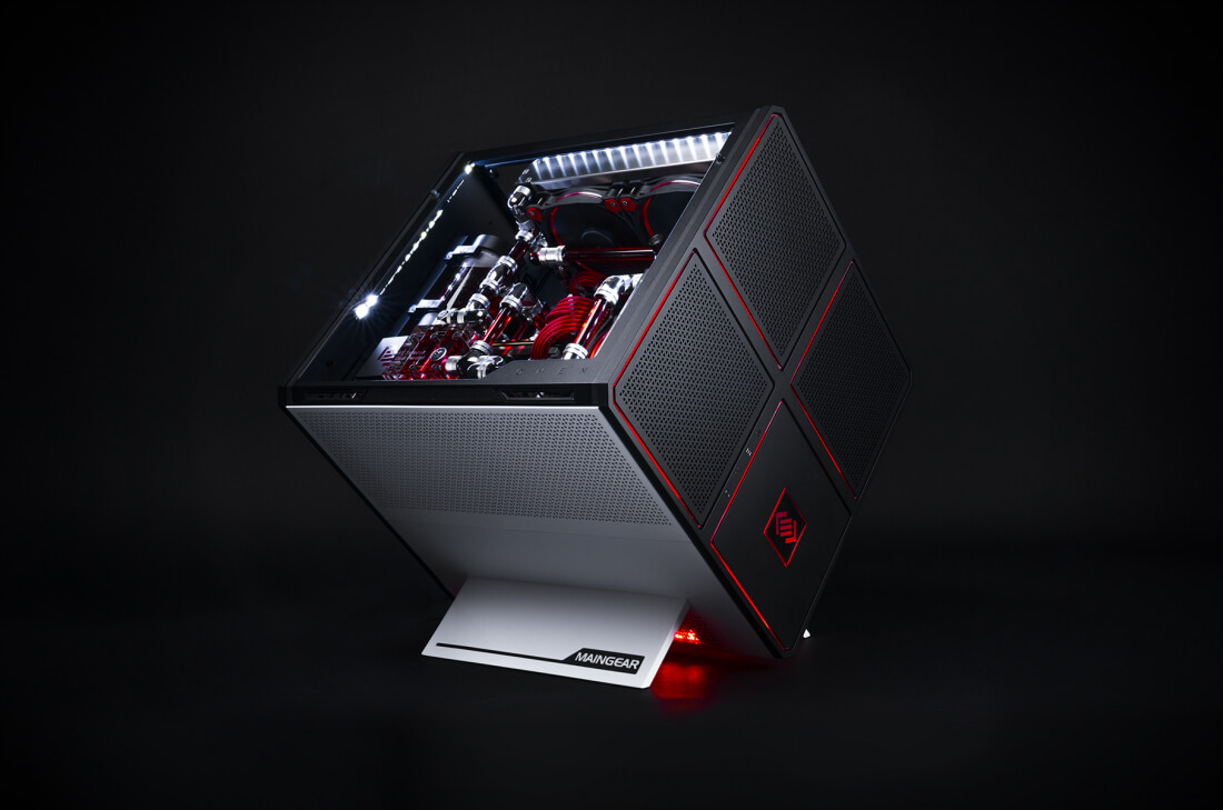maingear, gaming desktop, desktop, hp, omen