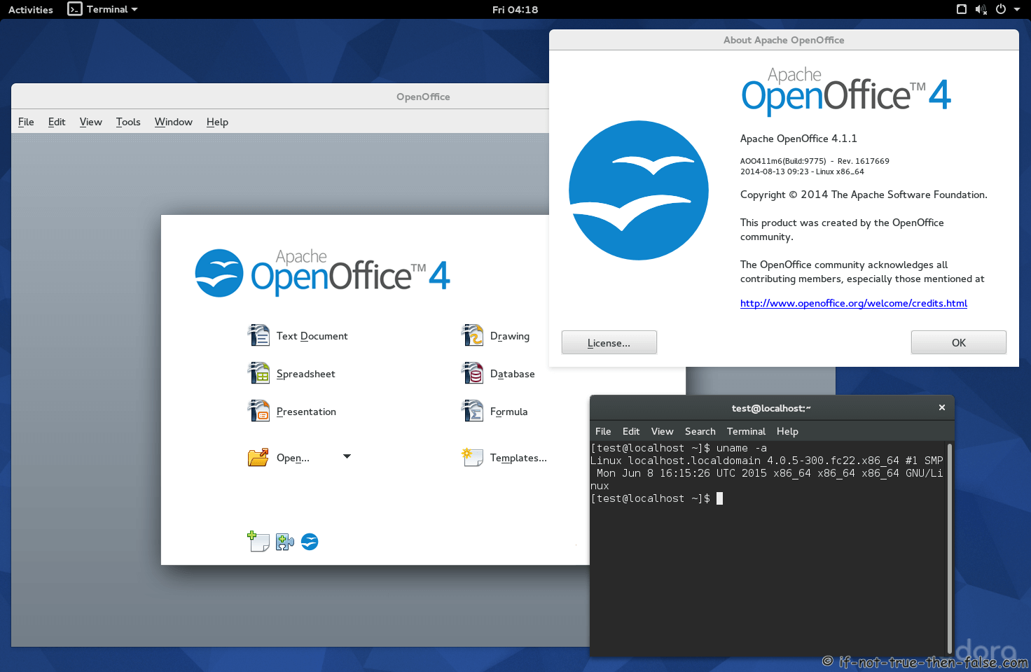 openoffice, office suite, apache, shuttering